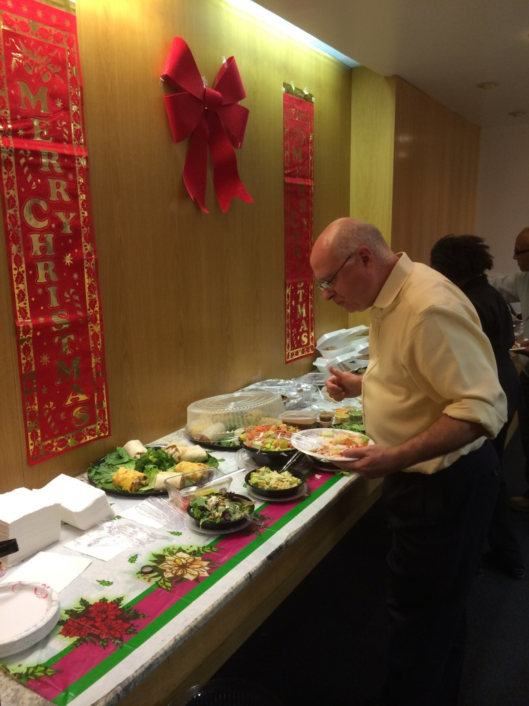 David Hahn surveys the Mexican food buffet